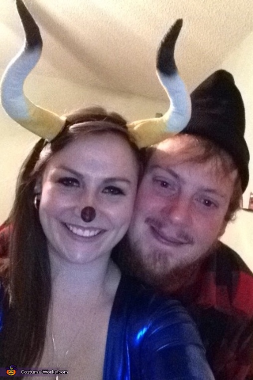 Close up!, Paul Bunyan and his Babe the Blue Ox Costume