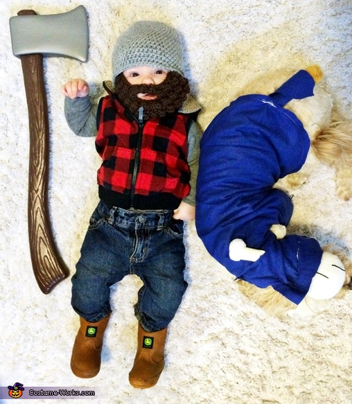 Paul Bunyan & Babe the Blue Ox Costumes