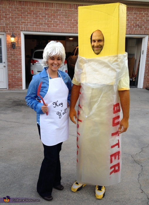 Paula Deen and her Butter Couples Costume
