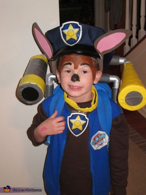 Paw Patrol Chase Costume