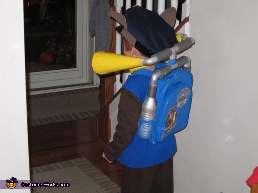 Paw Patrol Chase Homemade Costume