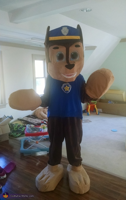Chase Front, Paw Patrol Chase Costume