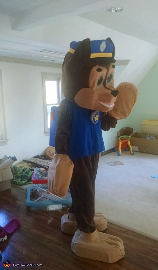 Chase Side, Paw Patrol Chase Costume