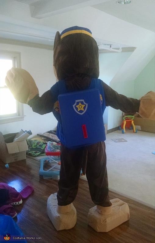 Chase Back, Paw Patrol Chase Costume