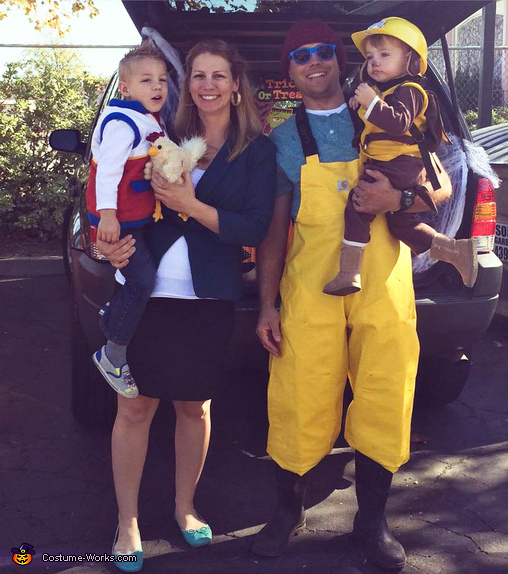 Paw Patrol Family Costume