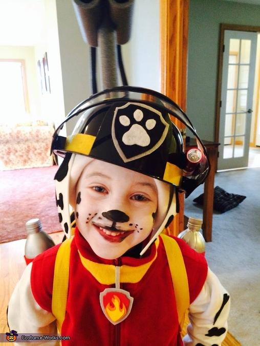 Paw Patrol Marshall Costume, Paw Patrol Marshall Costume