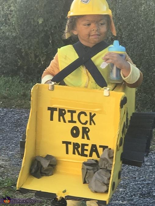 Paw Patrol Rubble Homemade Costume