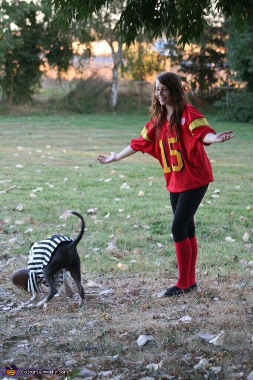 Aww common ref. we need the ball off the game!, Pawball Game Costume