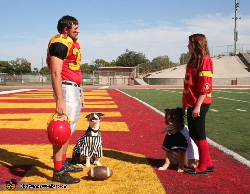 Coin toss, Pawball Game Costume