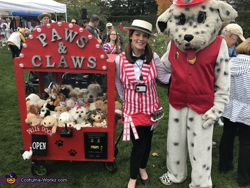 Paws & Claws Homemade Costume