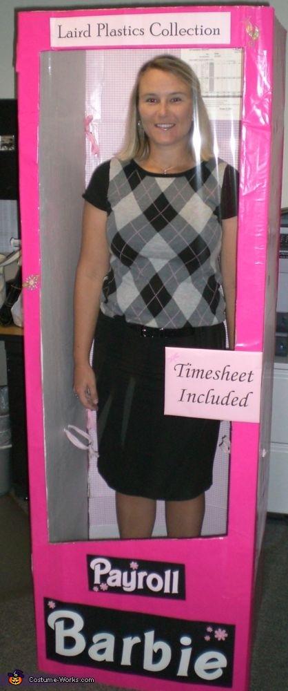 Payroll Barbie Costume