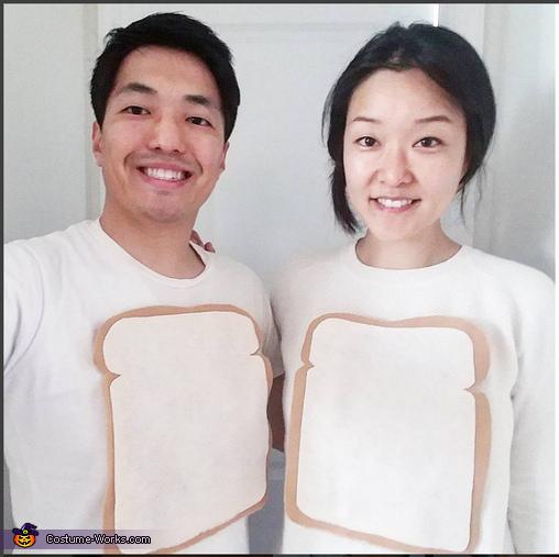Toast, PB & J Costume