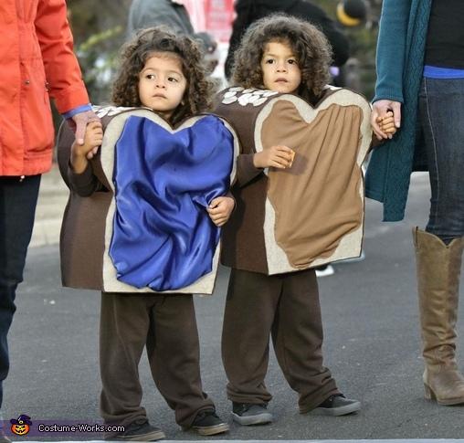 PB & J Twins Costume