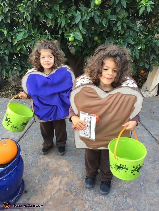 Trick or Treat, PB & J Twins Costume