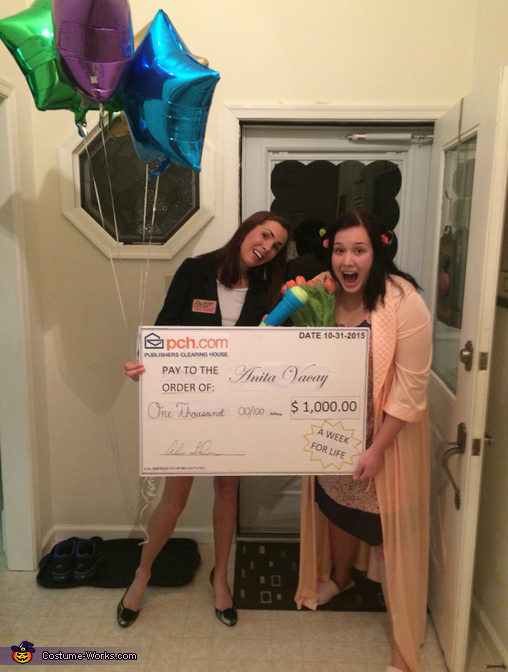 PCH Sweepstakes Winner Costume