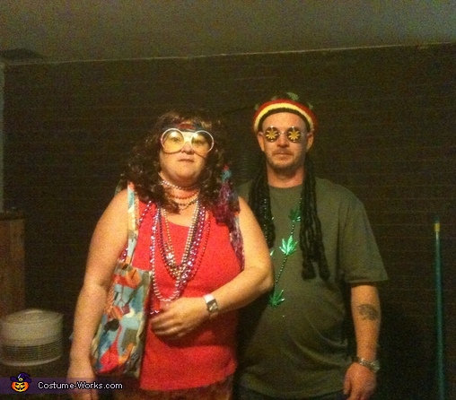 Peace Out Couple Costume