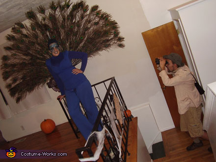 Peacock and Bird Watcher, Peacock & Bird Watcher Costume