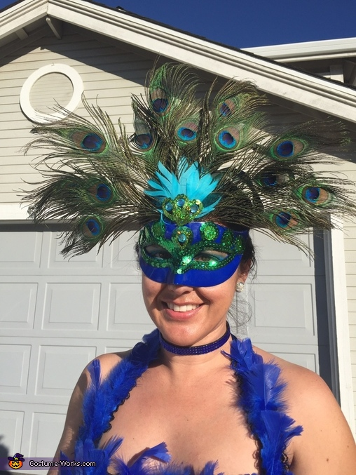 Mask, Peacock Costume