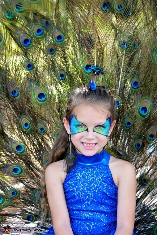 Peacock Costume for Girls