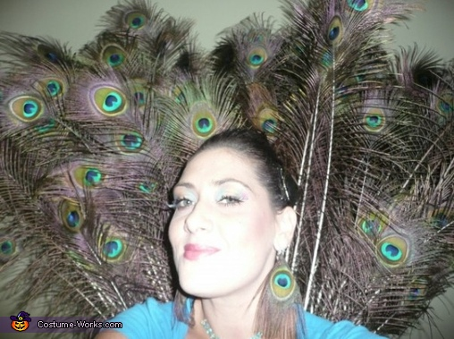 Peacock selfie , Peacock Costume