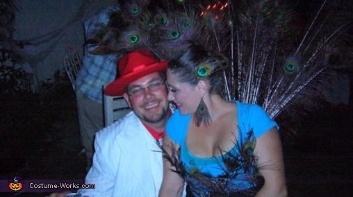 my husband and i, Peacock Costume