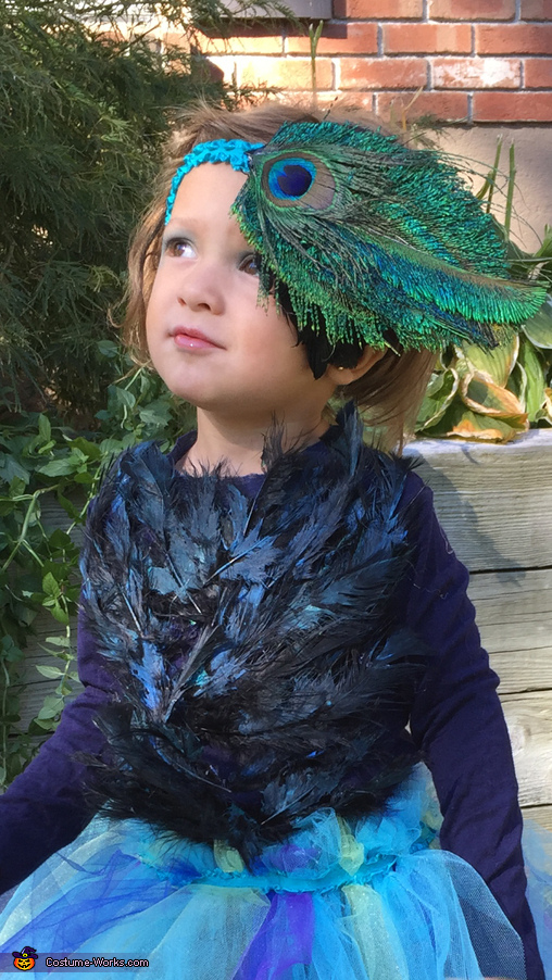 Arianna, Peacock Costume