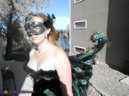 Peacock Princess Back, Peacock Princess Costume