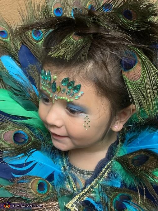 Peacock Princess Costume