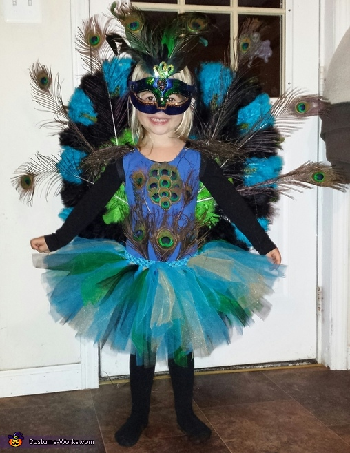 Peacock Princess Costume
