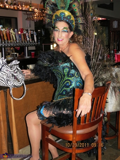 Peacock Showgirl - Homemade costumes for women