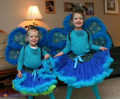 Peacock Sisters Costume