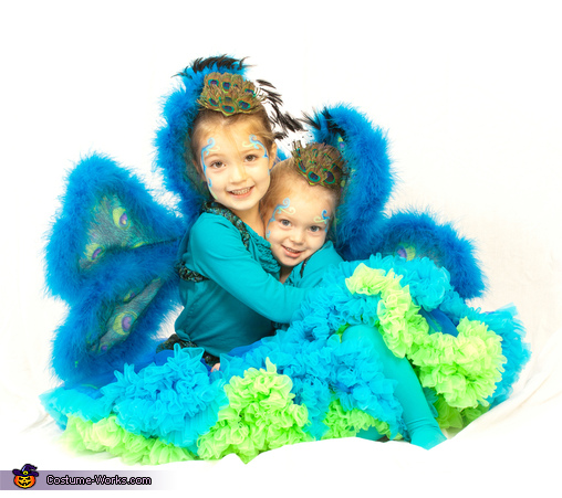 Lot of poof, Peacock Sisters Costume