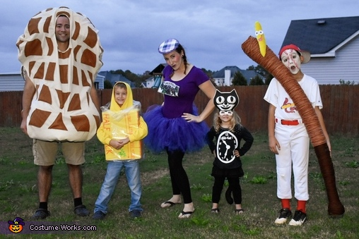Peanut Butter Jelly Time Costume