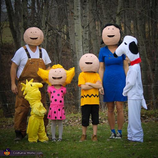 Peanut Family Costume