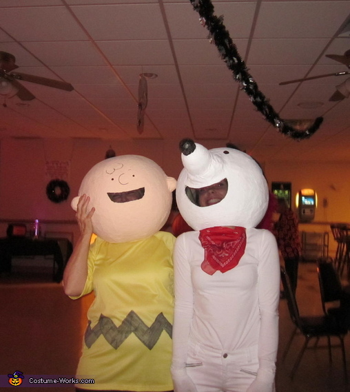Peanuts Characters Group Homemade Costume