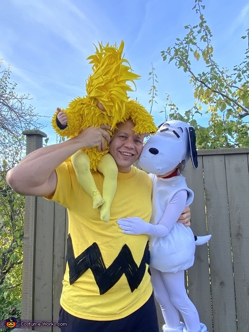 Snoopy, Charlie Brown and Woodstock, Peanuts Crew Costume
