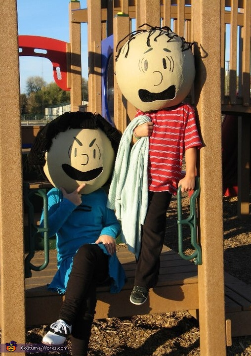 Lucy & Linus, Peanuts Gang Costume