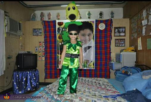 Peashooter Homemade Costume