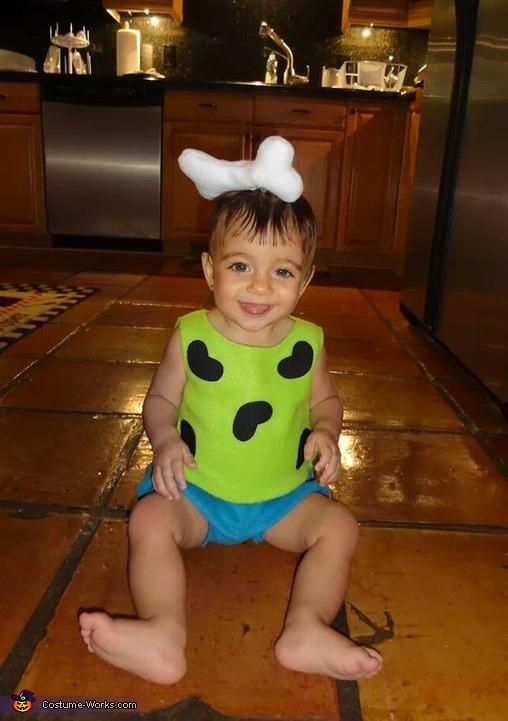 Pebbles Baby Costume