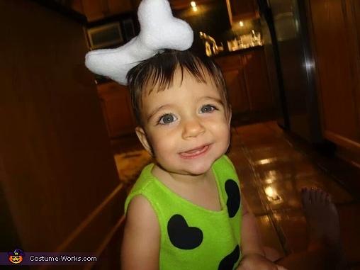 Pebbles Flintstone Baby Costume