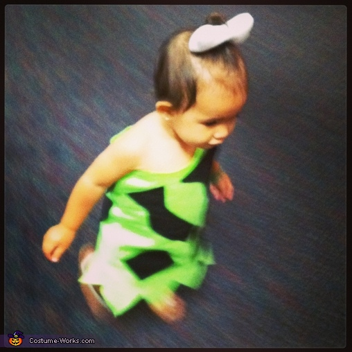 Yabba dabba dooooo, Pebbles Baby Costume
