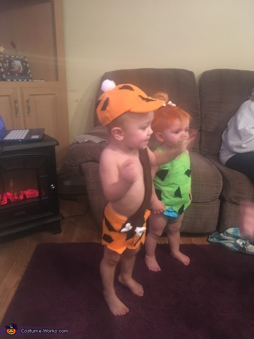 Pebbles and bam bam, Pebbles Baby Costume