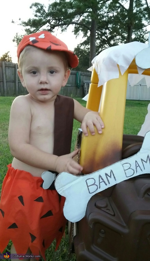 Pebbles & Bam Bam Homemade Costume