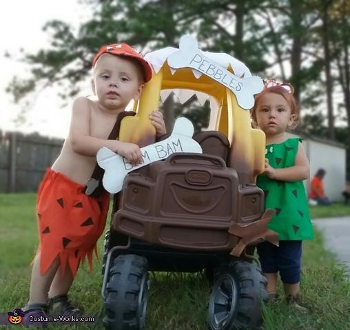 Pebbles & Bam Bam Costume