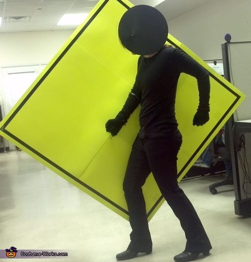 Pedestrian Crossing Sign Costume