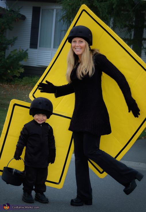 Pedestrian Crosswalkers Costume