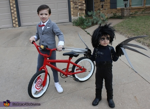 Pee-Wee and Edward Scissorhands Costumes