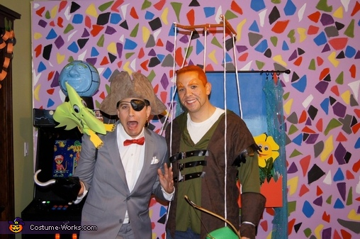 Even bully Randy put on a smile., Pee-wee's Playhouse Group Costume