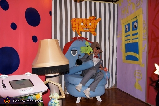 Chairy can be such a devil!, Pee-wee's Playhouse Group Costume