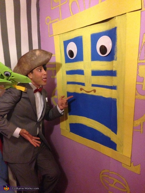 """I know you are BUT WHAT AM I?!"", Pee-wee's Playhouse Group Costume"